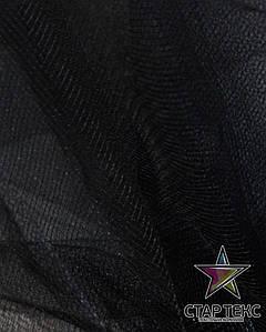 Фатин средней жесткости Crystal Tul Черный