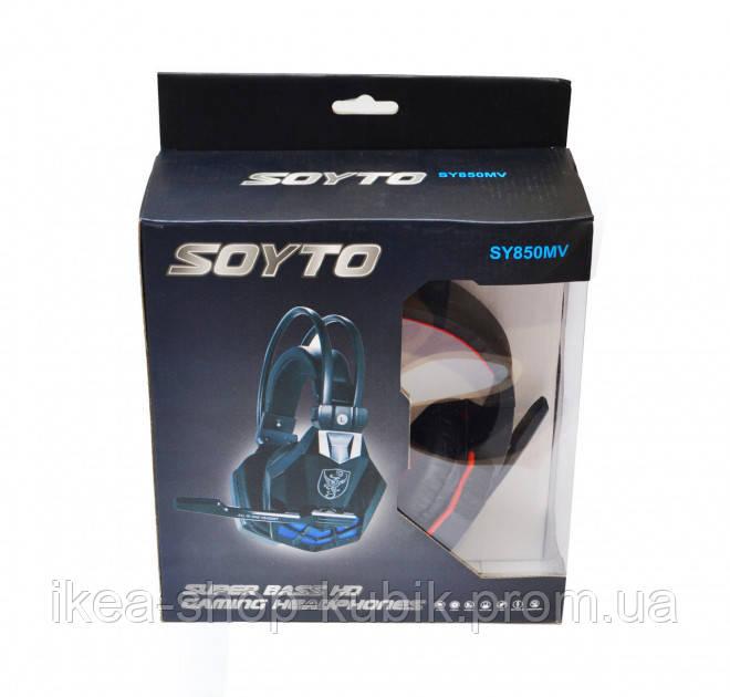 Ігрові навушники Soyto SY-850 MV