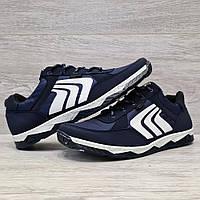 Кросівки чоловічі синього кольору демісезонні (Кф-78с)