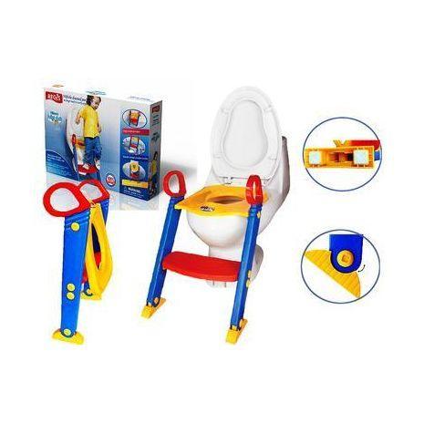 Детское сиденье на унитаз со ступенькой Toilet Trainer Kete.