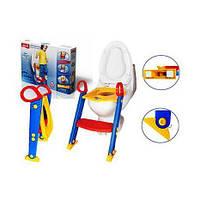 Детское сиденье на унитаз со ступенькой Toilet Trainer Kete., фото 1