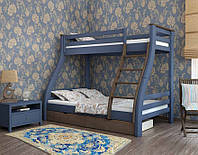 Кровать 2-х яр Аляска 80\120*190см