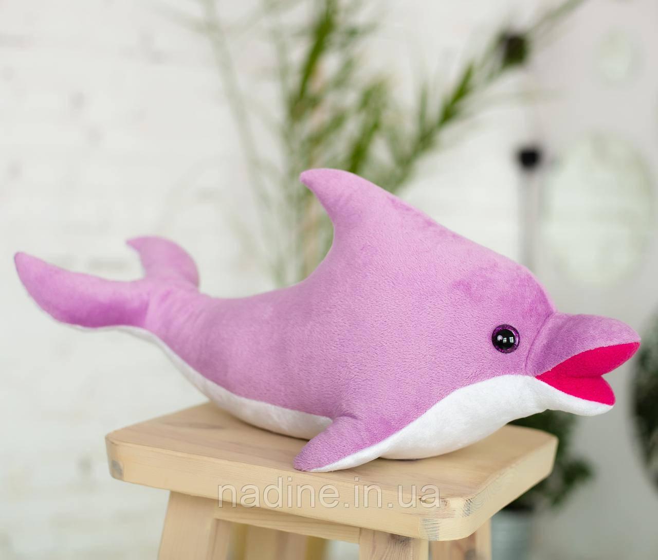 Дельфин игрушка Eirena Nadine (312-L-30) плюшевый 30 см лиловый