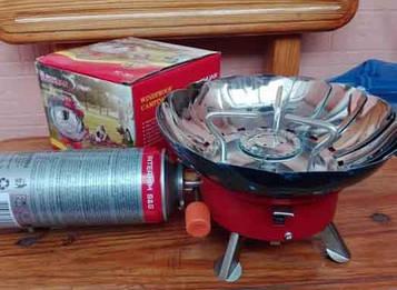 Горелка плита для кемпинга 301 (плита туристическая)