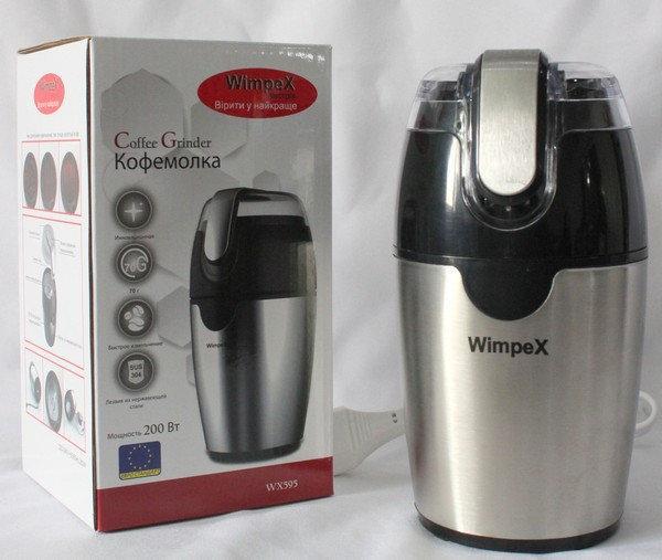 Кофемолка электрическая Wimpex WX 595 измельчитель 200Вт