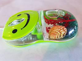 3D оптическая жидкая мышь поплавок, Аква-мышь жидкая мышь USB с плавающим аква эффектами Aqua Mouse.