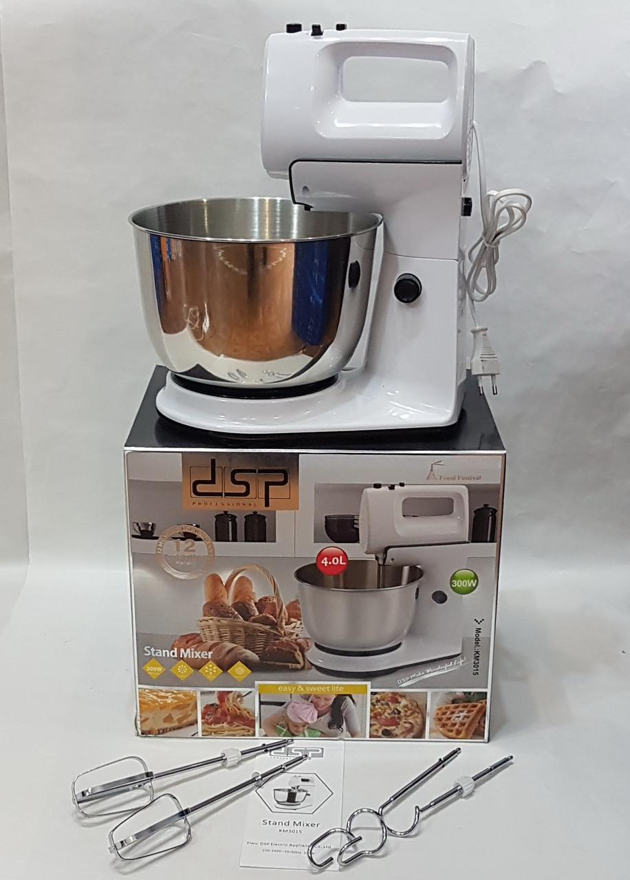 Миксер кухонный с чашкой на 4 л  DSP KM-3015 стационарный 300 W