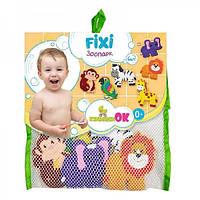 Набор игрушек для ванной фигурки на присосках Зоопарк КиндеренОК 251218