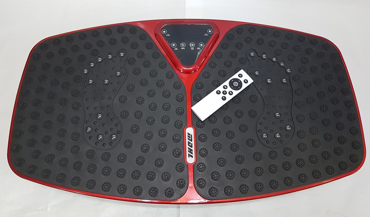 Вибрационная платформа 5 программ 99 скоростей с Bluetooth 200W Vibro body Shaper