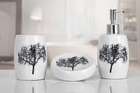 Аксессуары для ванной комнаты IRYA Vanda White (3 предмета)