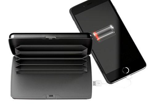 Кошелек Insta Charge Wallet SonicIQ кошелек с павербанком.