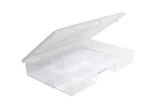 Організатор пластиковий з кришкою, для дрібних предметів Heidrun Diy Mix 28 * 19,5 * 4 см (GP-703)