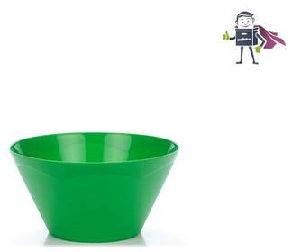 Салатник пластиковий 3,3л Heidrun Kitchen Mix, d25 * h13cм (арт.HDR-2611)