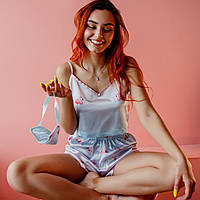"""Женская Пижама """"Pink Flamingo"""" Пижамы для сна. Одежда для сна и дома женская"""
