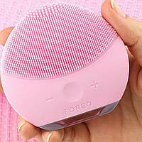 Силиконовая щетка для чистки лица Foreo / Форео LUNA., фото 1