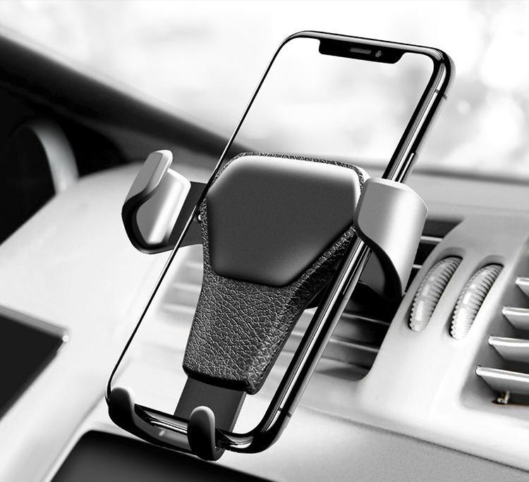 Автомобильный Держатель телефона Universal gravity air vent car mount (в ящике 180 шт).