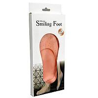 Силиконовые носочки Silicone Smiling Foot, фото 1