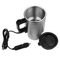 Автомобильная чашка 12V CUP / кружка с подогревом Electric Mug (в ящике 48 шт.), фото 1