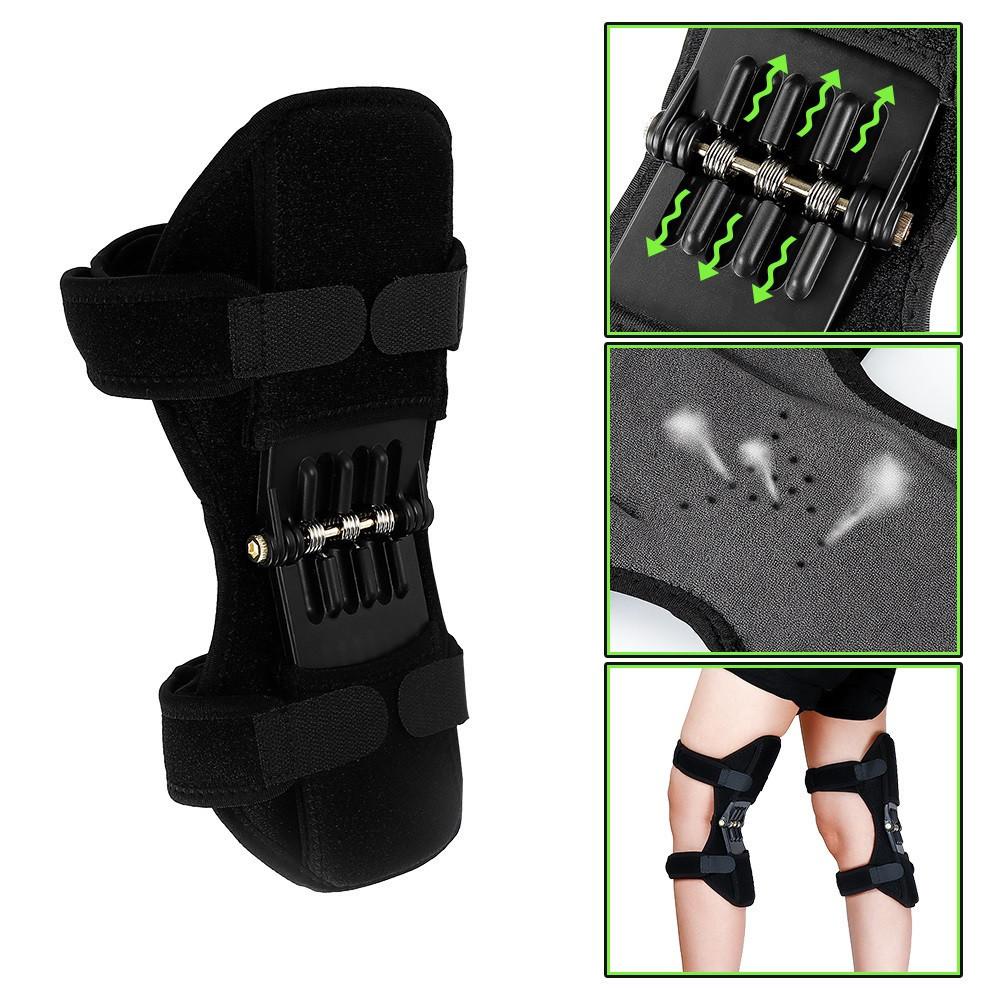 Поддержка коленного сустава Power Knee( Наколенник с функцией корсета для коленного сустава).