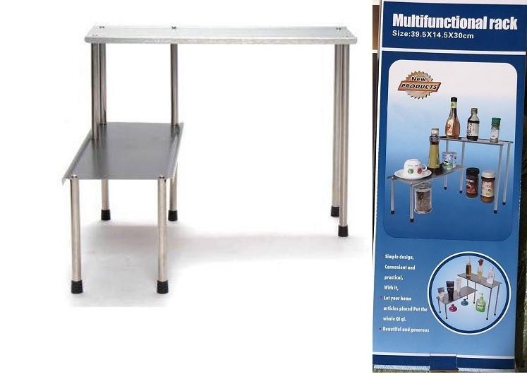 Многофункциональная стойка-подставка из нержавеющей стали Multifunctional Rack.