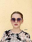 Круглые солнцезащитные очки фиолетовые, фото 2