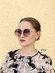 Круглые солнцезащитные очки фиолетовые, фото 4