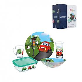 Набор детский 5 предметов Luminarc Vroom 7868P