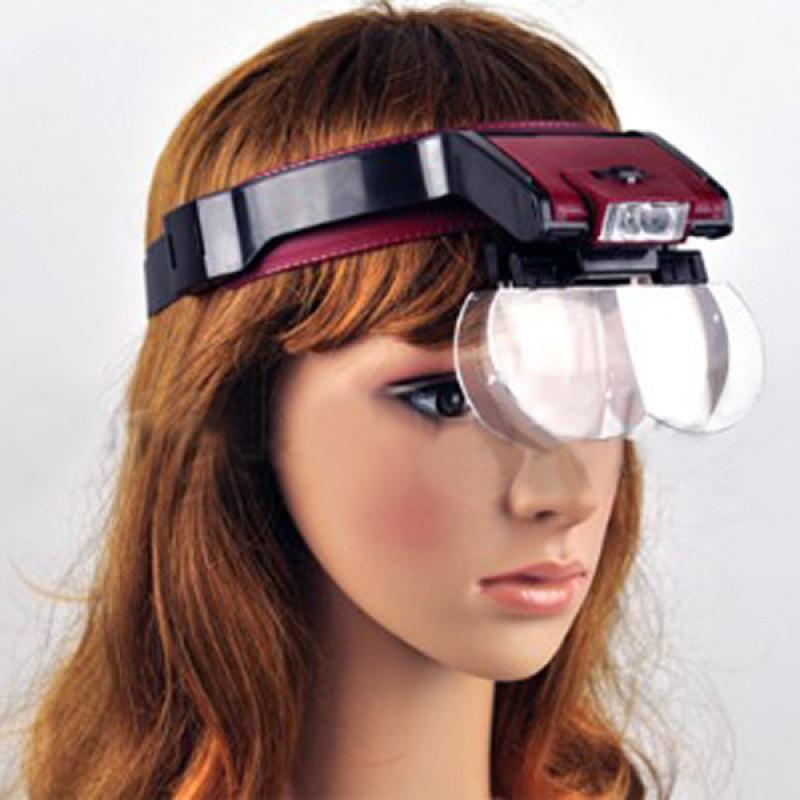 Бинокулярные очки (бинокуляры) MG81001-B. с подсветкой 1,7x - 3,5x