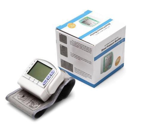 Цифровой тонометр на запястье Blood Pressure Monitor CK-102S  (в ящике 100 шт).