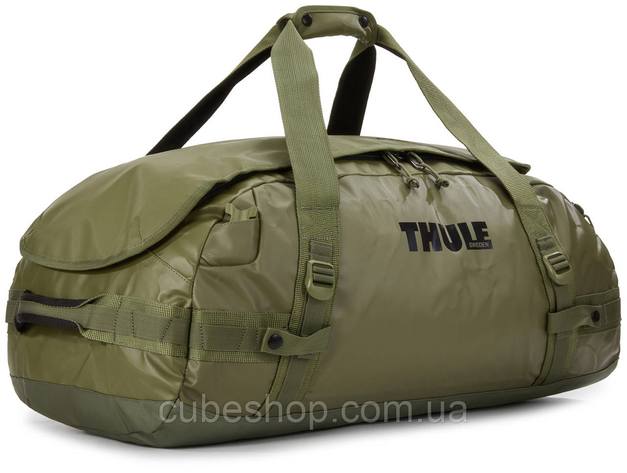 Спортивная сумка-рюкзак Thule Chasm 70L Olivine (оливковый)