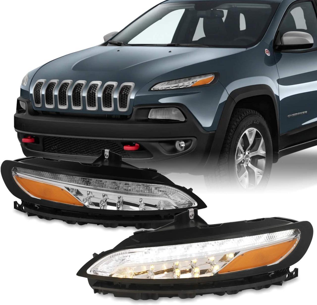 Ліва Daytime Running Light для Jeep Cherokee KL 2014-2018 Нові. 68157103AQ Джип Черокі (КЛ) LED