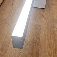 LED профиль ЛСБ 40 для светодиодной ленты Комплект, фото 1