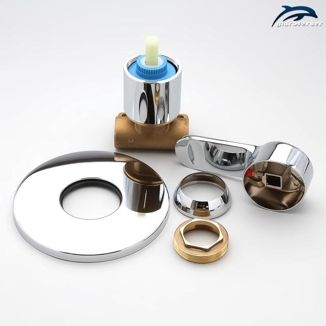 Душова система для гігієнічний душу прихованого монтажу SGD-05 з латунним змішувачем.