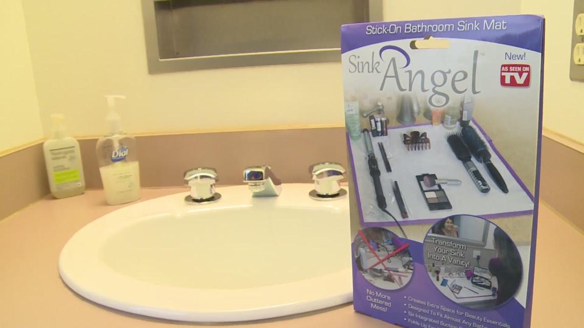 Коврик на раковину Sink Angel-универсальный.