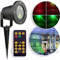 Лазерный проектор STAR SHOWER  + пульт., фото 1