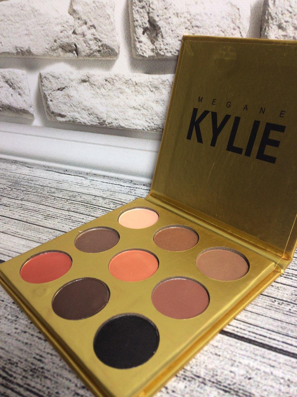 Тени для век Kylie (Кайли) Jenner Kyshadow (золото) 9 цветов.