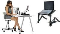 Подставка- трансформер для ноутбука с кулером на кровать  Table T9., фото 1