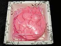 Мыло сувенирное ароматизированное розовое, фото 1