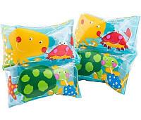 Детские надувные нарукавники для плавания Intex Морские жители 59650