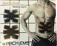 Миостимулятор EMS-TRAINER для мышц пресса , Mobile-Gym 6 Pack ., фото 1