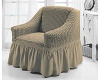Чехлы на кресла комплект 2 шт. оливка