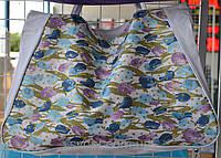 Сумка пляжная 60x50 см серая, фото 1