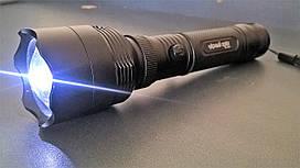 Яркий светодиодный фонарик LED Черный орел