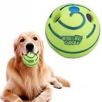 Игрушка для собак Хихикающий мяч для собак Wobble Wag Giggle., фото 1