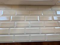 Листовые декоративные панели для кухни  и ванной Кабанчики бежевая