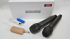 Микрофоны профессиональные Temeisheng Langting L-88 беспроводные микрофоны с передатчиком