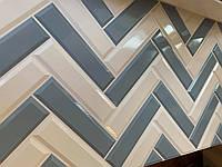 Панели пластиковые листовые стеновые Оксфорд Грей 960х485
