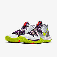 Мужские баскетбольные кроссовки Nike Kyrie 5 Low EP Mamba Mentality White Violet Yellow