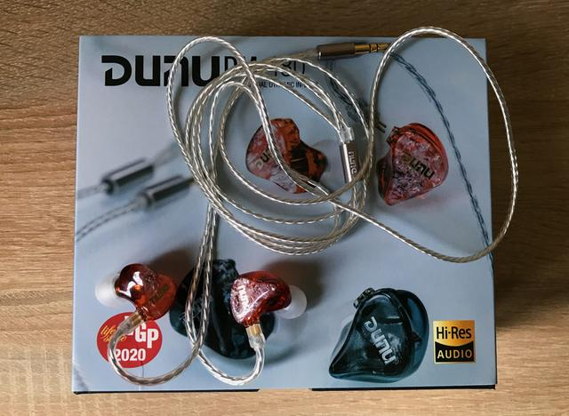 Рисунок - dunu dm480 обзор распаковка