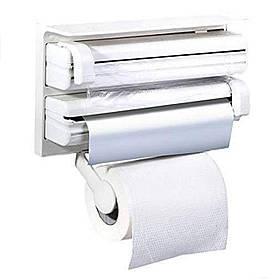 Кухонный держатель Triple Paper Dispenser 3 в 1 (5821)